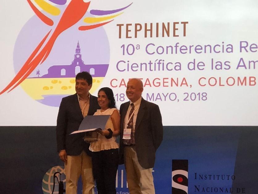 Epidemióloga peruana ocupa primer lugar en evento científico internacional