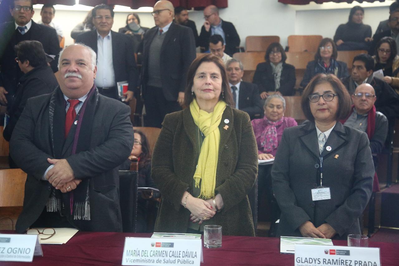 Minsa presenta sala virtual para la vigilancia epidemiológica en el Perú