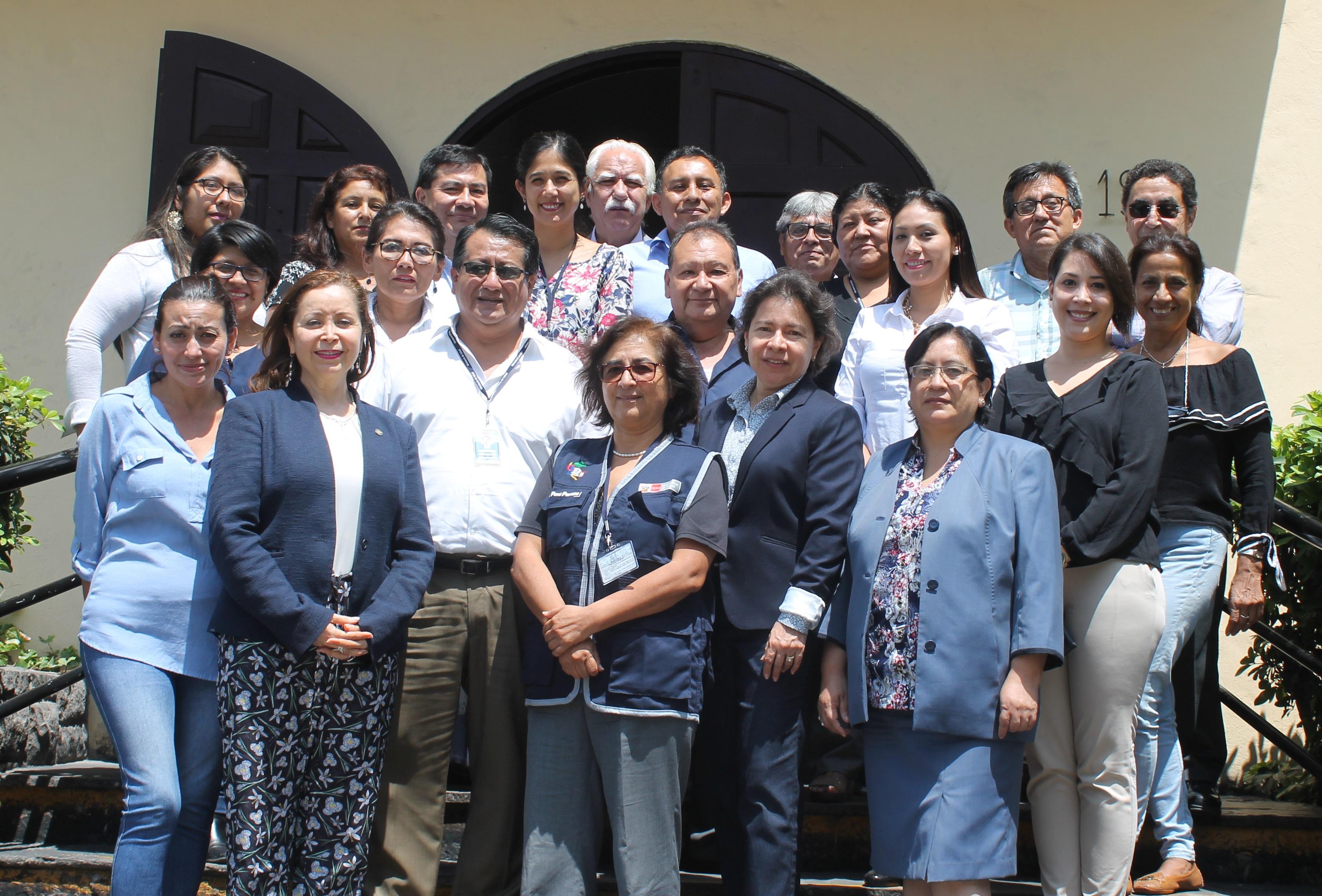 Minsa se reúne con expertos en Inmunizaciones de la OPS para la vigilancia epidemiológica de sarampión- rubéola en el Perú