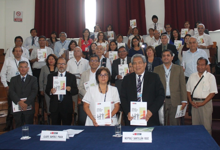 """Minsa presenta """"Carga de  enfermedad en el Perú: Estimación de los años de vida saludables perdidos 2016"""""""