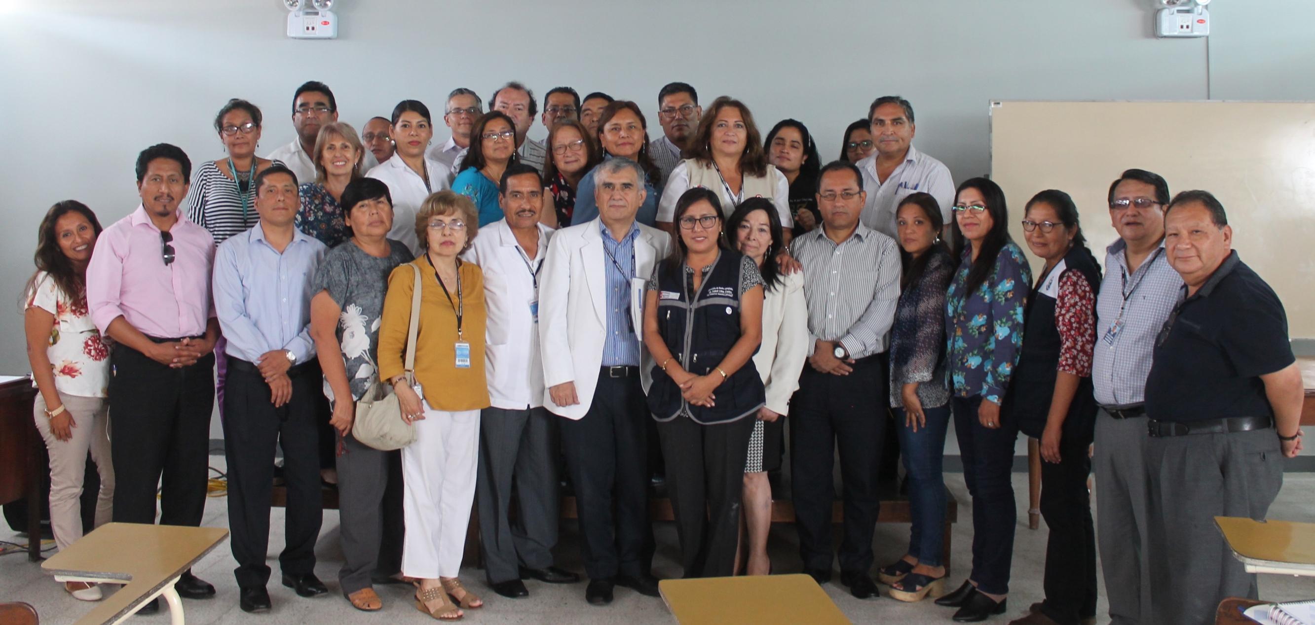 CDC Minsa capacita a jefes de establecimientos de Salud de la DIRIS Lima Centro sobre sarampión