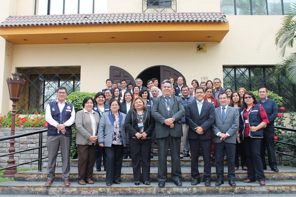 Presentación del equipo de gestión del CDC