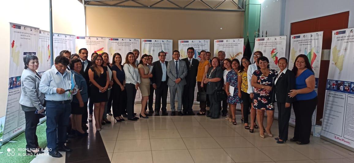 Presentación del Asis Local de 20 Distritos de Lima Metropolitana