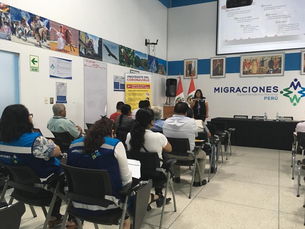 CDC brindad asistencia técnica al equipo de Migraciones sobre Vigilancia, Prevención y Control del COVID-19