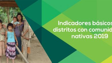Photo of Indicadores básicos en distritos con comunidades nativas 2019